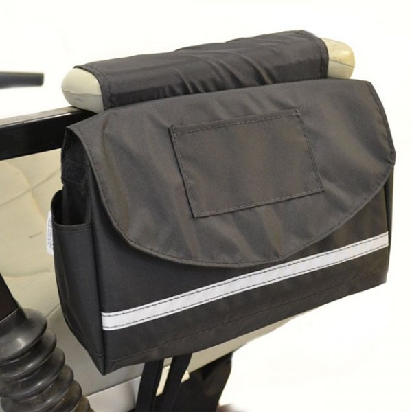 Deluxe Saddle Bag for Scooter or Wheelchair