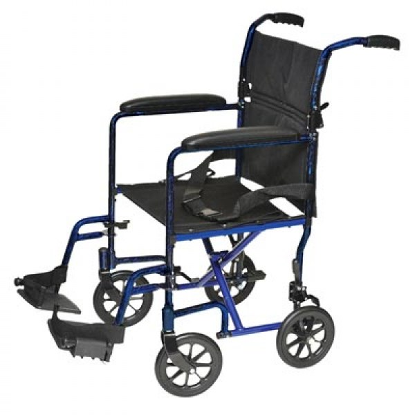 Lightweight Aluminum Transport Wheelchair 19