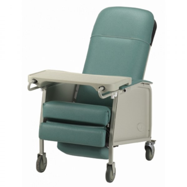 Geri-Chair Recliner in Jade Green