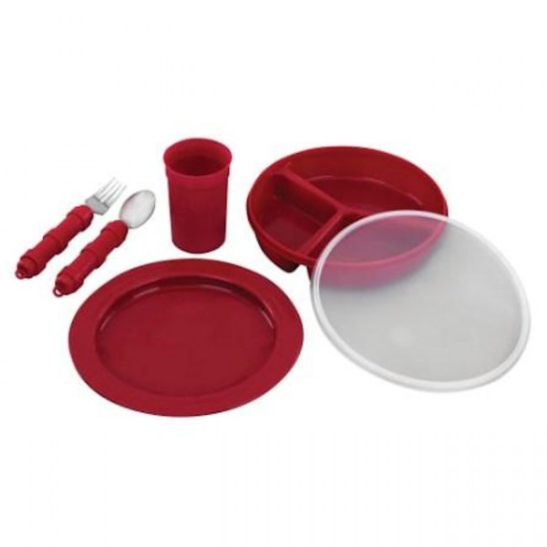Redware Tableware - Deluxe set