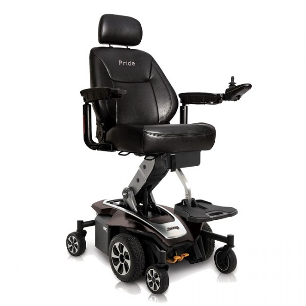 Jazzy Air 2 Power Wheelchair in Black Onyx
