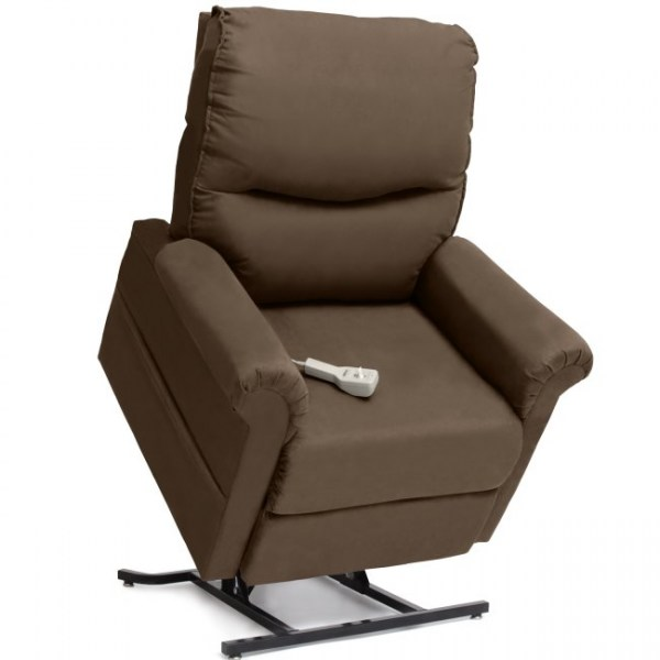 Pride LC105 Lift Chair in Cocoa Micro Suede