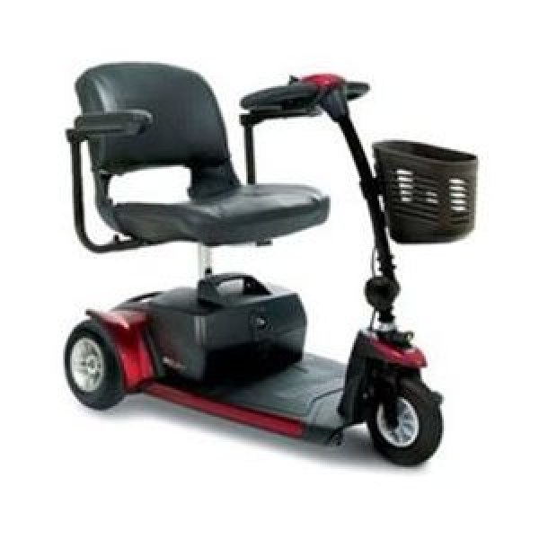 3-Wheel GOGO Plus Scooter; Red- RENTAL
