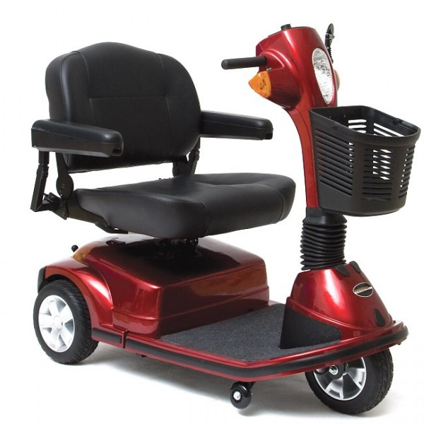 Maxima Heavy Duty 3-Wheel Scooter in Red