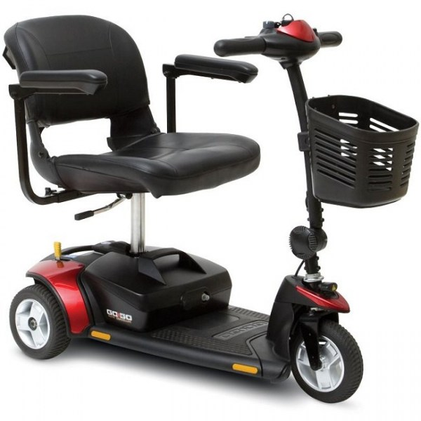 Pride Gogo Elite Traveller 3-wheel w/12Ah battery