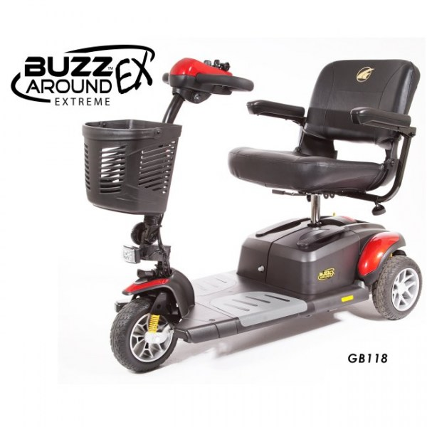 Buzzaround EX Extreme 3-Wheel Scooter