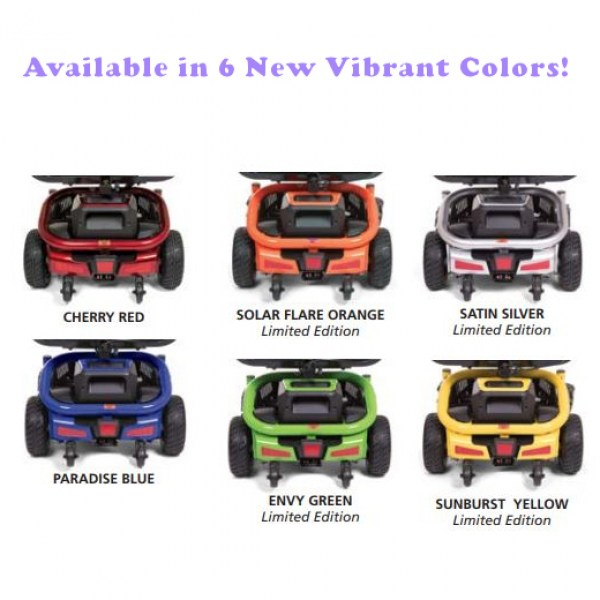LiteRider Envy New Colors!
