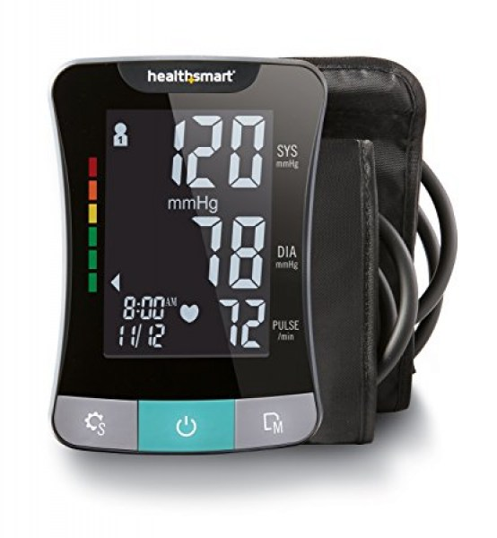 HealthSmart Premium Series Upper Arm Blood Pressure Monitor