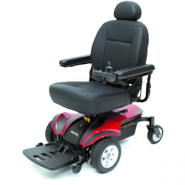Jazzy Select Elite Power Chair; RED