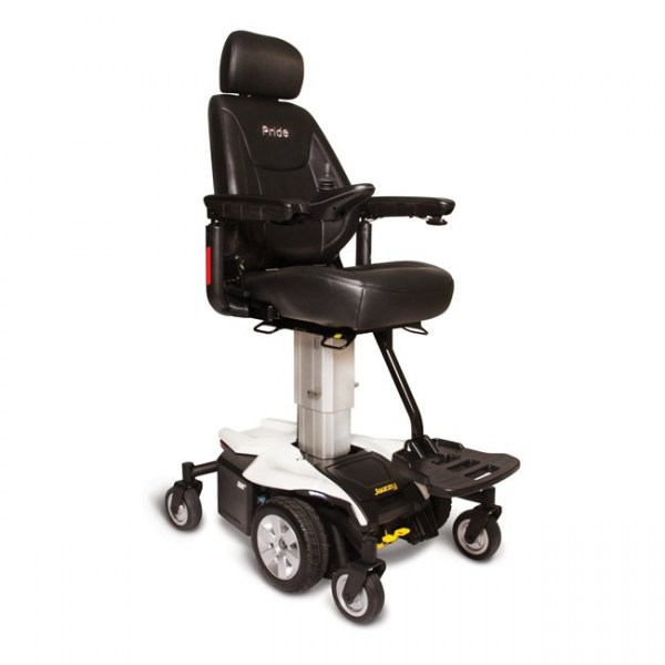 Jazzy Air Power Wheelchair in White