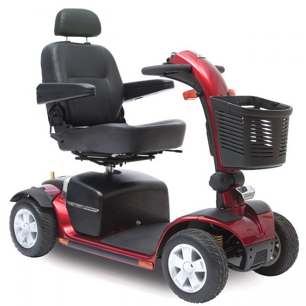 Victory Sport 4 wheel Scooter in Red