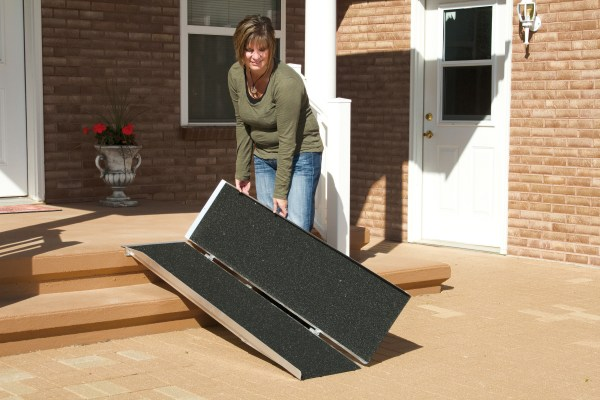 PVI 5' portable folding ramp