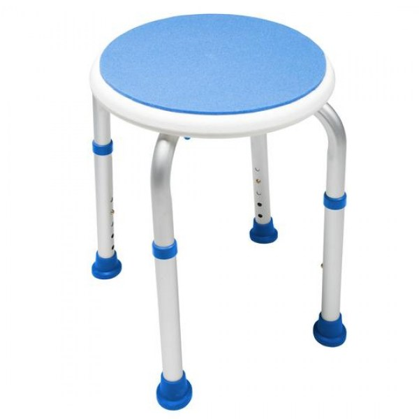 Padded Round Safety Shower Stool