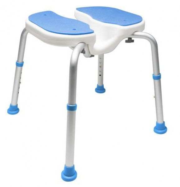Padded Bath Safety Seat w/Hygienic Cutout
