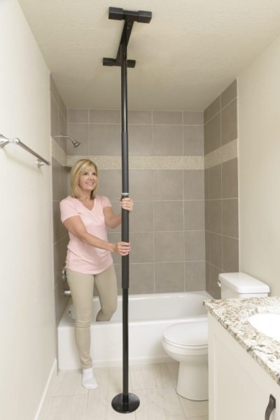 Stander Security Pole in BLACK