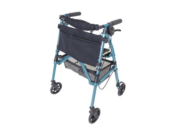 Stander EZ Fold-N-Go Rollator with Seat
